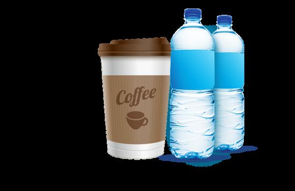 káva nebo voda zdarma