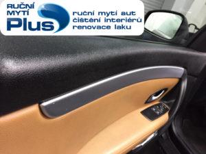 čištění interiéru vozu